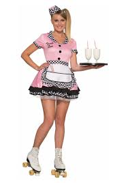 halloween costumes car womens trixie sue carhop costume