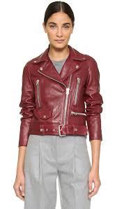 leather moto jacket acne studios leather moto jacket shopbop