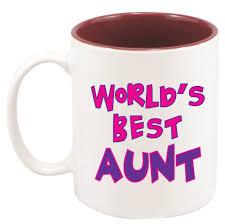 amazon com best aunt mug 11 oz with gift box by custom creator
