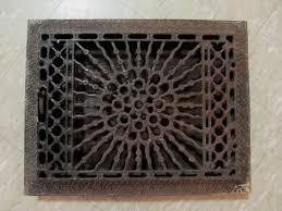 Floor Grates by 1886 Cast Iron Sunburst Floor Wall Complete Heat Register 1 More