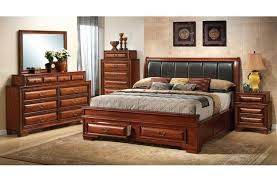 King Size Bed Furniture Sets Bedroom Best King Size Bedroom Sets With Black Leather Headboard