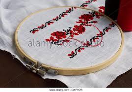 cross stitch fabric stock photos cross stitch fabric stock