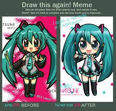 Draw This Again Meme Template - draw this again meme by hokage3 on deviantart