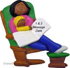 buy rocking chair ornament african american lady ornament