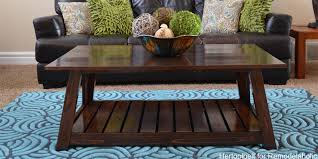remodelaholic diy slat coffee table