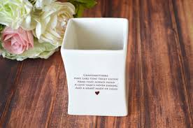 grandmother gift ships fast unique grandmother gift square vase gift boxed and re