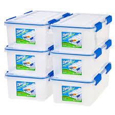 plastic storage bins u0026 totes storage u0026 organization the home