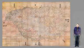 Map From Adventures In Oversized Imaging Digitizing The ōmi Kuni Ezu 近江