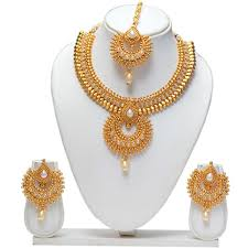 fashion jewellery necklace set images Beautiful design gold necklace designs artificial jewellery shops jpg