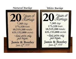 20th wedding anniversary gift 20th wedding anniversary 20 year wedding anniversary 20th