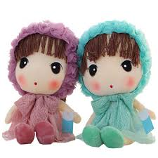 flower girl doll gift stuffed fashion doll high quality peluche fille gifts