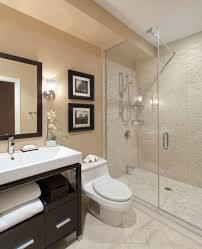 guest bathroom designs small gray guest bathroom ideas with black wooden frame mirror and
