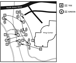Ohio University Parking Map by Disc Golf
