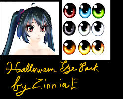 halloween eye pack by zinniae by zinniae on deviantart