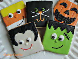 Sugar Cookie Halloween by Halloween Cookies Frankenstein Vampire Candy Corn Black Cat Jack O