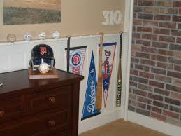 baseball bat chair rail sport house decor pinterest baseball