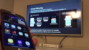 screen mirroring android galaxy s7 edge how to screen mirror to samsung smart tv