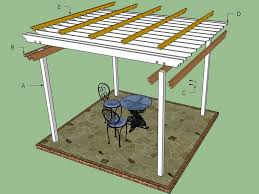 How To Build A Freestanding Patio Roof by 15 Free Pergola Plans You Can Diy Today