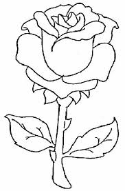 imagenes para colorear rosas con espinas