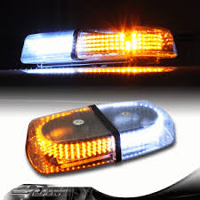 magnetic base strobe light 240 led magnetic base emergency hazard warning amber white flash