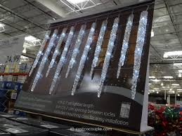 twinkling white led icicle lights decorating appealing led icicle lights with 2 7 meter lighted