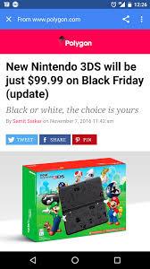 will amazon get the 99 3ds for black friday black friday 2016 u2014 brickset forum