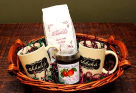 coffee baskets schuler s restaurant pub custom gift baskets schuler s
