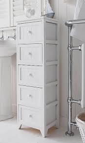 Narrow Bathroom Floor Cabinet by Bathroom Cabinet Storage Narrow Bathroom Storage Cabinets With