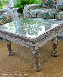 How To Make A Wood Table Top Coffee Table Tables Made From Windows How To Attach Legs To A