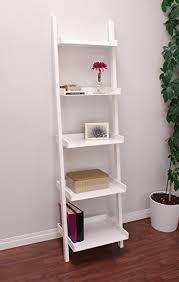 Container Store Leaning Desk Amazon Com Kiera Grace Hadfield 5 Tier Leaning Wall Shelf 18 By