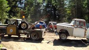 Classic Chevrolet 4x4 Trucks - classic truck rescue 1958 chevy cameo tow youtube