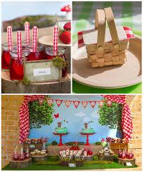 Kids Picnic Basket Teddy Bear Picnic Birthday Party Kara U0027s Party Ideas Picnic