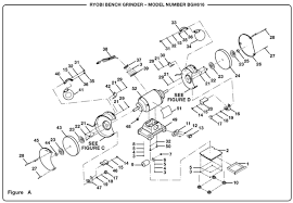 Ryobi Bench Grinder Price Ryobi Bgh616 Bench Grinder Parts And Accessories Partswarehouse