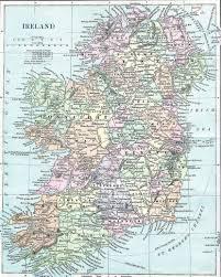Old Map Of Europe by Large Detailed Old Map Of Ireland Ireland Europe Mapsland
