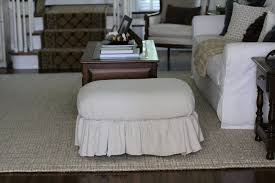 No Sew Slipcover For Sofa Ottoman Beautiful Img Ottoman Slipcover No Sew Using Painter S