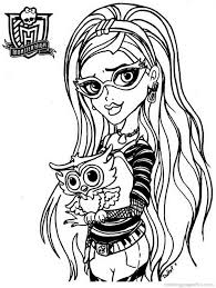 monster high coloring pages clawdeen wolf monster high coloring pages 21 free printable coloring pages
