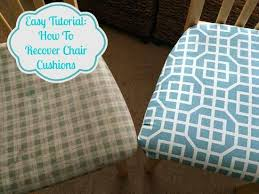 Recovering Dining Room Chair Cushions Best 25 Dining Room Chair Cushions Ideas On Pinterest Kitchen
