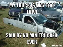 Slammed Car Memes - 35 very funny truck meme images mini truck memes pinterest