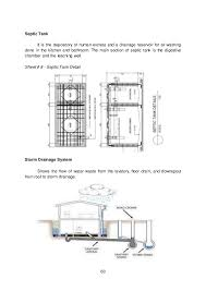 Septic Tank Size For 3 Bedroom House Module 3 Module 1 Architecural Layout U0026 Details