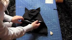 bat mask halloween how to make a batman costume for halloween youtube