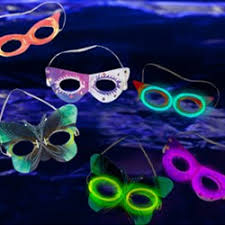 how to throw a glow themed mardi gras party