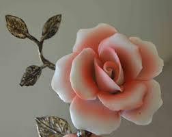 capodimonte roses porcelain roses etsy
