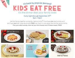 ihop black friday deals kids eat free at ihop aug 1 sept 25 2016 out to eat with kids