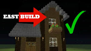 how to build a simple two story survival house in minecraft 2015