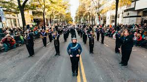 novant health thanksgiving day parade nc