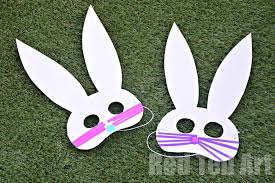 bunny mask easy easter bunny masks ted s