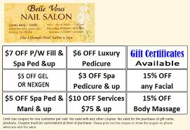 ous nail salon in frisco welcome belle vous nail salon