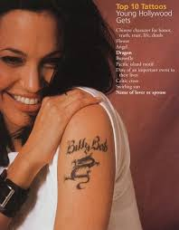 angelina jolie might still have billy bob tattoo infinite