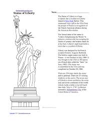 coloring book page of statue of liberty free download clip art