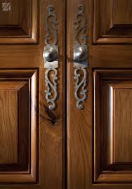 brown cabinet hardware less with iron handle for kitchen furniture